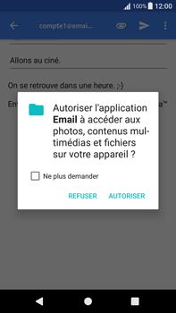 Sony Xperia XA1 Plus - E-mail - Envoi d