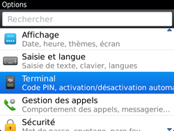 BlackBerry 9720 - Applications - Supprimer une application - Étape 4