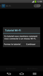 LG D955 G Flex - Wifi - configuration manuelle - Étape 4