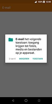 ZTE Blade V9 - E-mail - Handmatig instellen (outlook) - Stap 5