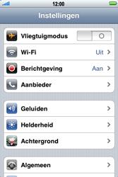 Apple iPhone 4 - Toestel reset - terugzetten naar fabrieksinstellingen - Stap 3