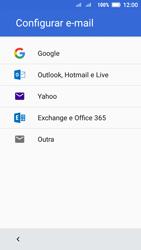 Lenovo Vibe C2 - Email - Como configurar seu celular para receber e enviar e-mails - Etapa 7