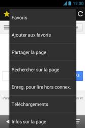 Bouygues Telecom Bs 351 - Internet et connexion - Naviguer sur internet - Étape 10