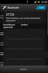 Sony ST23i Xperia Miro - Bluetooth - koppelen met ander apparaat - Stap 8