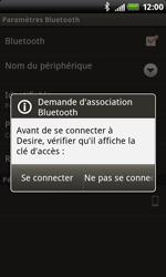 HTC S510b Rhyme - Bluetooth - Jumeler avec un appareil - Étape 10