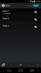 Motorola Moto G - Wi-Fi - Como configurar uma rede wi fi - Etapa 8