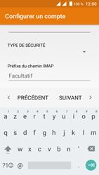 Crosscall Trekker M1 Core - E-mail - Configuration manuelle - Étape 14