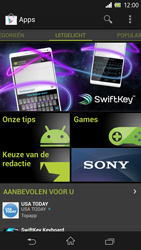 Sony C6603 Xperia Z - Applicaties - Applicaties downloaden - Stap 16