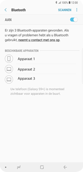 Samsung Galaxy S9 Plus (SM-G965F) - Bluetooth - Aanzetten - Stap 6