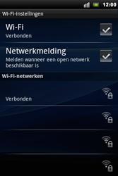 Sony Ericsson Xperia Mini Pro - Wifi - handmatig instellen - Stap 8