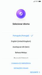 Huawei P10 - Primeiros passos - Como ligar o telemóvel pela primeira vez -  4
