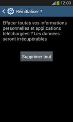 Samsung Galaxy Core Plus - Device maintenance - Retour aux réglages usine - Étape 9