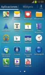 Samsung i8260 Galaxy Core - Mensajería - Configurar el equipo para mensajes de texto - Paso 3