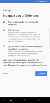 Samsung Galaxy S8 Plus - Android Oreo - Applications - Créer un compte - Étape 14