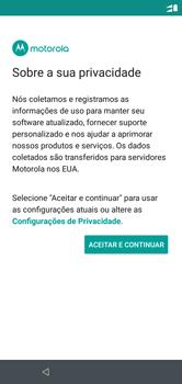 Motorola One - Primeiros passos - Como ativar seu aparelho - Etapa 19