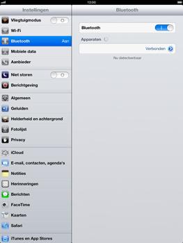 Apple iPad 4 - Bluetooth - Koppelen met ander apparaat - Stap 7