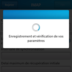 BlackBerry Q5 - E-mail - Configuration manuelle - Étape 16