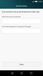 Huawei P8 Lite - E-mail - Manual configuration - Step 18
