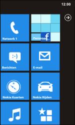 Nokia Lumia 900 - Netwerk - Handmatig netwerk selecteren - Stap 14