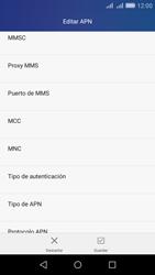 Huawei Huawei Y6 - Mensajería - Configurar el equipo para mensajes multimedia - Paso 12