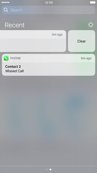 Apple Apple iPhone 6s Plus iOS 10 - iOS features - Customise notifications - Step 12