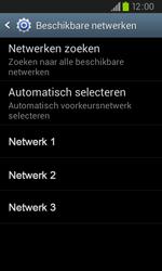 Samsung I9105P Galaxy S II Plus - Netwerk - Handmatig netwerk selecteren - Stap 11