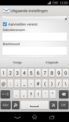 Sony Xperia E3 - E-mail - e-mail instellen: IMAP (aanbevolen) - Stap 13