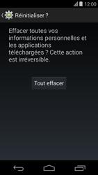 Acer Liquid E600 - Device maintenance - Retour aux réglages usine - Étape 8