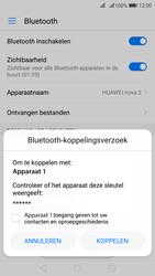 Huawei Nova 2 - WiFi en Bluetooth - Bluetooth koppelen - Stap 7