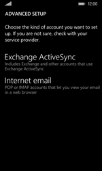 Nokia Lumia 530 - Email - Manual configuration - Step 10