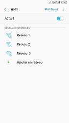 Samsung A520F Galaxy A5 (2017) - Android Oreo - Wi-Fi - Accéder au réseau Wi-Fi - Étape 7
