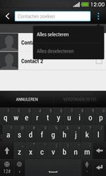 HTC Desire 500 - Contactgegevens overzetten - delen via Bluetooth - Stap 7