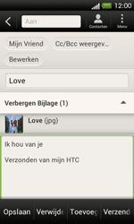 HTC C525u One SV - E-mail - hoe te versturen - Stap 16