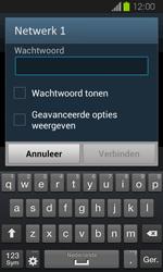 Samsung I8730 Galaxy Express - WiFi - Handmatig instellen - Stap 7