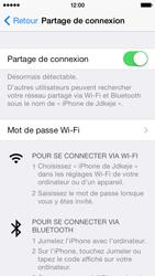 Apple iPhone 5 - Internet et connexion - Partager votre connexion en Wi-Fi - Étape 6