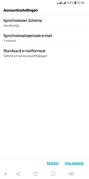 LG Q7 - E-mail - Account instellen (IMAP zonder SMTP-verificatie) - Stap 17