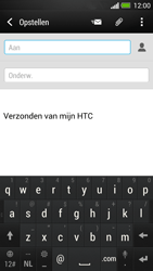 HTC One - E-mail - Hoe te versturen - Stap 5