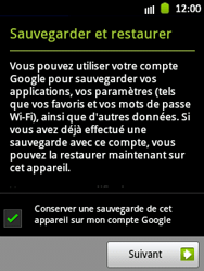 Samsung S5300 Galaxy Pocket - Applications - Télécharger des applications - Étape 12