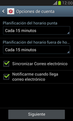 Samsung Galaxy S3 Mini - E-mail - Configurar correo electrónico - Paso 15