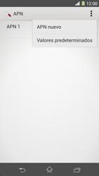 Sony Xperia Z1 - Mensajería - Configurar el equipo para mensajes multimedia - Paso 8