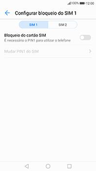 Huawei Mate 9 - Segurança - Como ativar o código PIN do cartão de telemóvel -  6