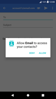Sony Xperia XA1 Plus - Email - Sending an email message - Step 5