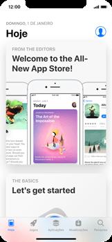 Apple iPhone X - Aplicações - Como pesquisar e instalar aplicações -  3