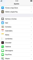 Apple iPhone 7 - iOS 12 - Email - Como configurar seu celular para receber e enviar e-mails - Etapa 3