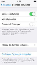Apple iPhone 5s iOS 9 - Internet - activer ou désactiver - Étape 4