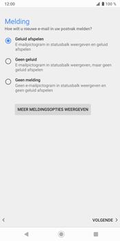 Sony Xperia XZ3 - E-mail - e-mail instellen: IMAP (aanbevolen) - Stap 21