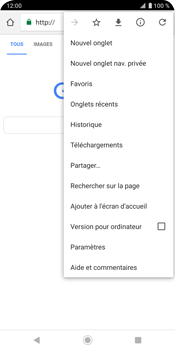 Sony Xperia XZ3 - Internet - navigation sur Internet - Étape 9