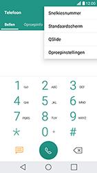 LG K10 (2017) - Voicemail - Handmatig instellen - Stap 4