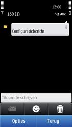 Nokia C7-00 - MMS - automatisch instellen - Stap 4