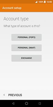 ZTE Blade V9 - E-mail - Manual configuration IMAP without SMTP verification - Step 13